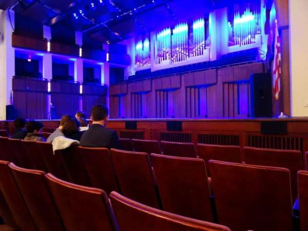 The Kennedy Center Concert Hall, section: Orchestra, rangée: D, siège: 22 and 24
