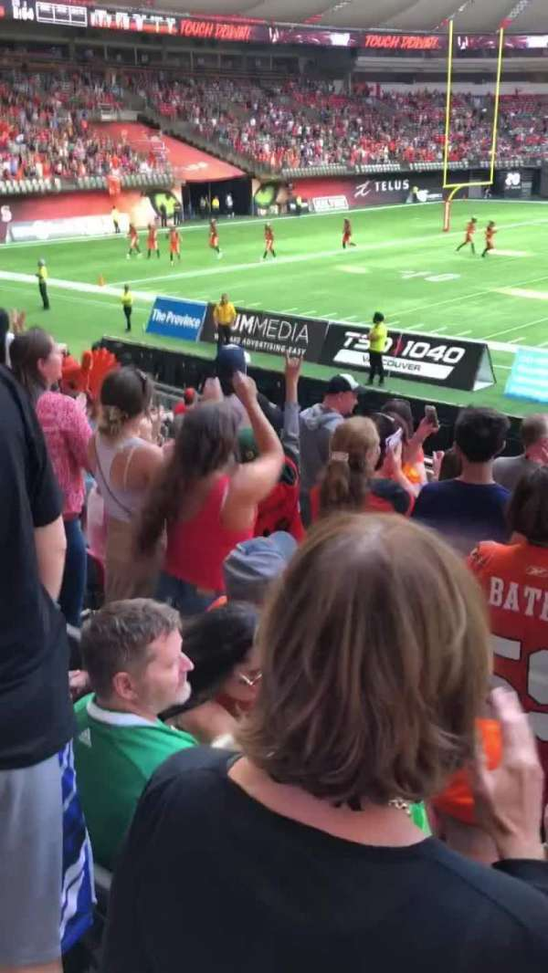 Video from BC Place