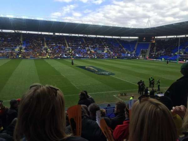 Madejski Stadium, section: G8, rangée: W