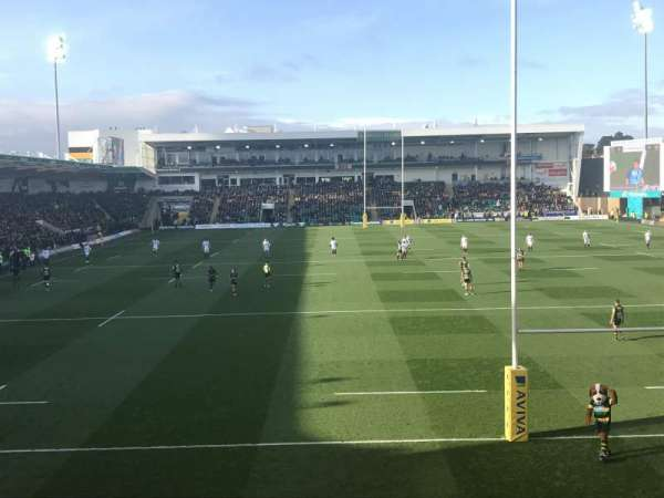 Franklin's Gardens, section: Elite Insurance Stsnd. Block 1, rangée: S, siège: 407