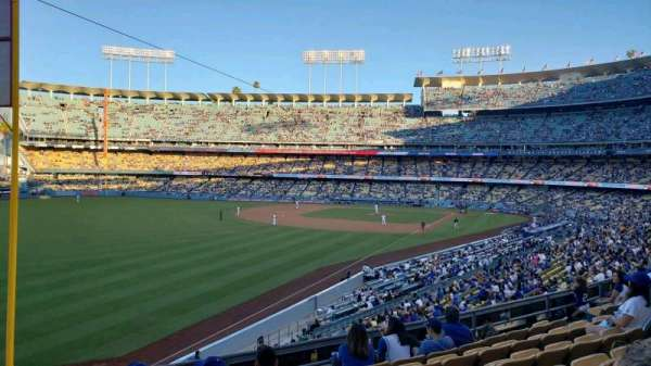 Dodger Stadium, section: 161LG, rangée: G, siège: 16