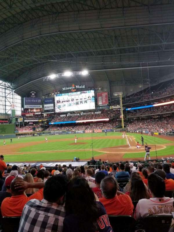 Minute Maid Park, section: 116, rangée: 21, siège: 11