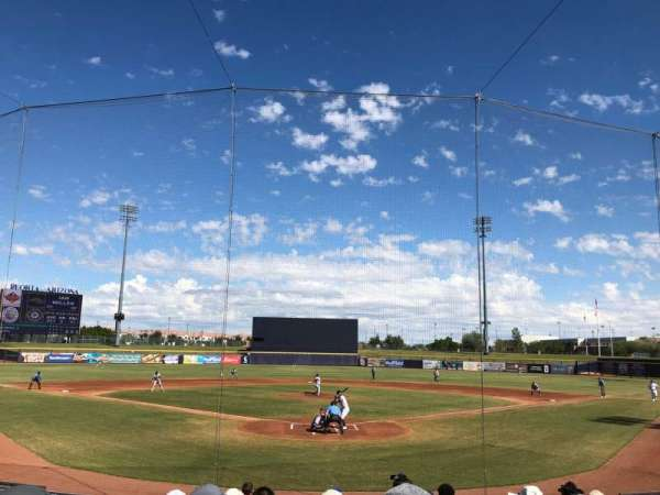 Peoria Sports Complex, section: 100, siège: 10