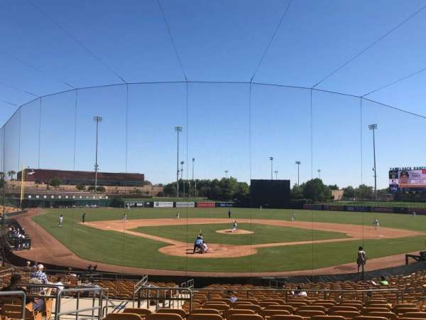 Camelback Ranch, section: 114, rangée: 12, siège: 13