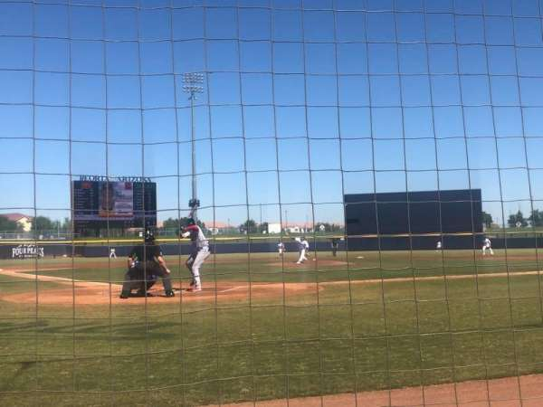 Peoria Sports Complex, section: 102, rangée: A, siège: 8