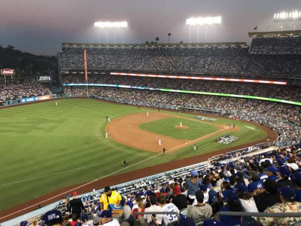 Dodger Stadium, section: 39RS, rangée: R, siège: 5