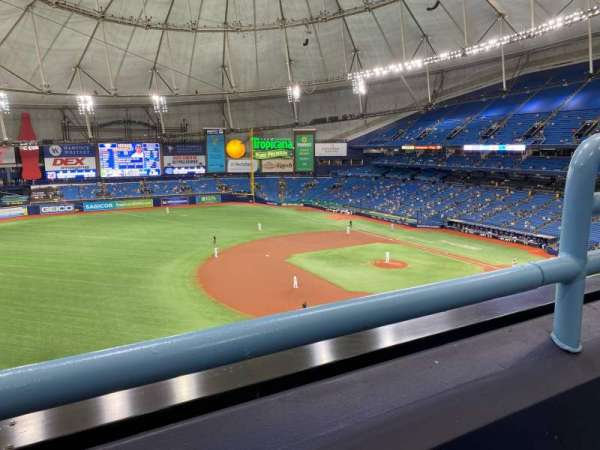 Tropicana Field, section: 317, rangée: A, siège: 22