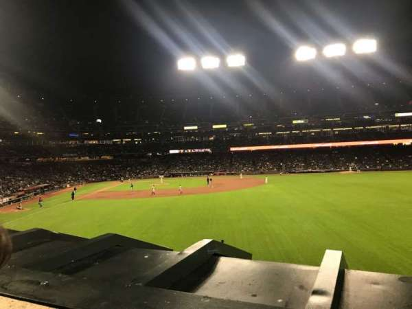 Oracle Park, section: 148, rangée: 1, siège: 3