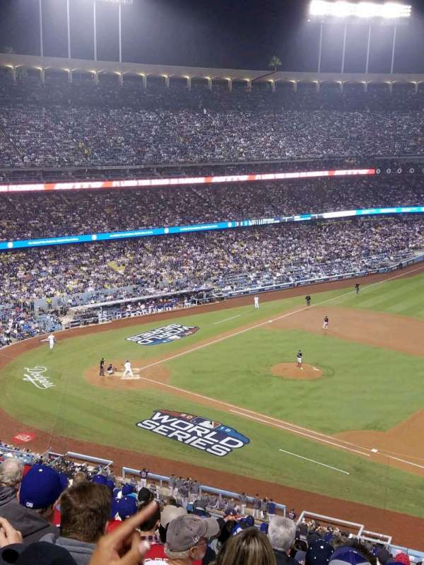 Dodger Stadium, section: 24RS, rangée: S, siège: 21