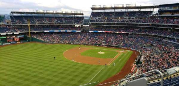 Nationals Park, section: 301, rangée: H, siège: 6