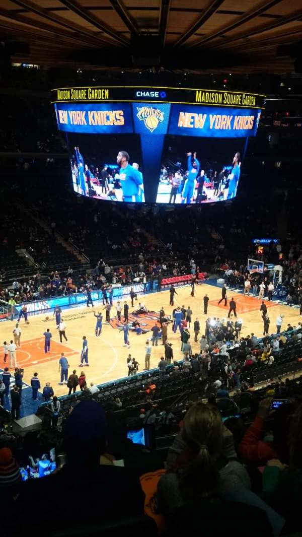 Madison Square Garden, section: 211