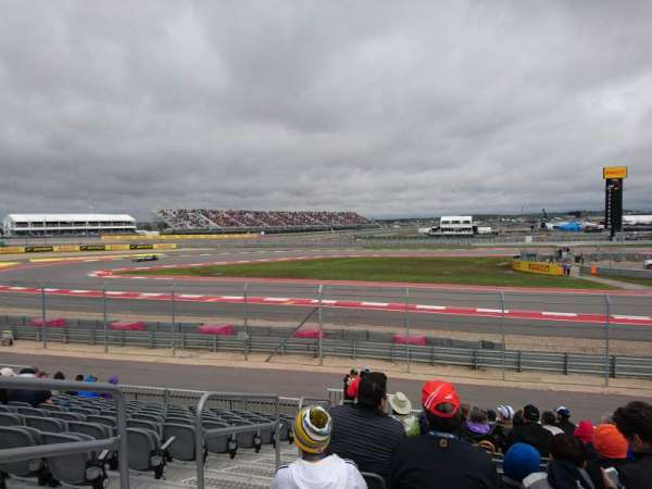 Circuit of the Americas, section: Turn 15 - Section 14, rangée: 17