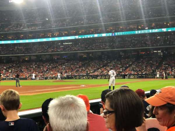 Minute Maid Park, section: 110, rangée: 4, siège: 9
