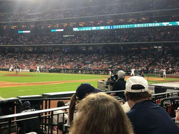 Minute Maid Park, section: 111, rangée: 7, siège: 12