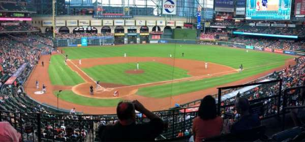 Minute Maid Park, section: 221, rangée: 4, siège: 11