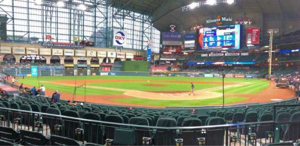 Minute Maid Park, section: 118, rangée: 15, siège: 16
