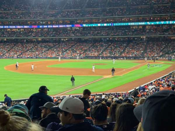 Minute Maid Park, section: 106, rangée: 38, siège: 5