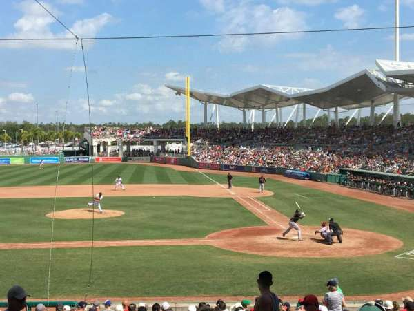 JetBlue Park, section: 206, rangée: 7