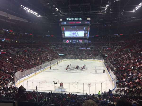 BB&T Center, section: 108, rangée: 27