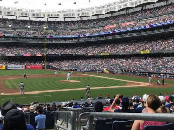 Yankee Stadium, section: Field MVP 125, rangée: 10, siège: 1