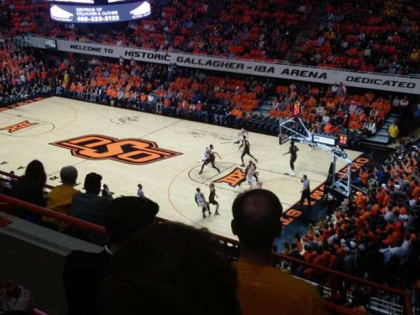 Gallagher-Iba Arena, section: 315, rangée: 5
