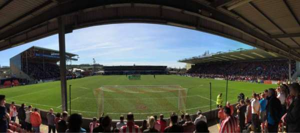 Sincil Bank, section: Stacey West, rangée: Unreserved