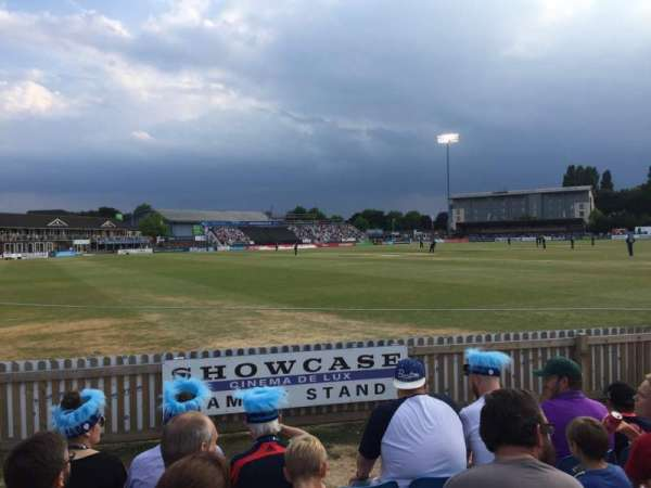 The 3aaa County Ground, section: Family Block
