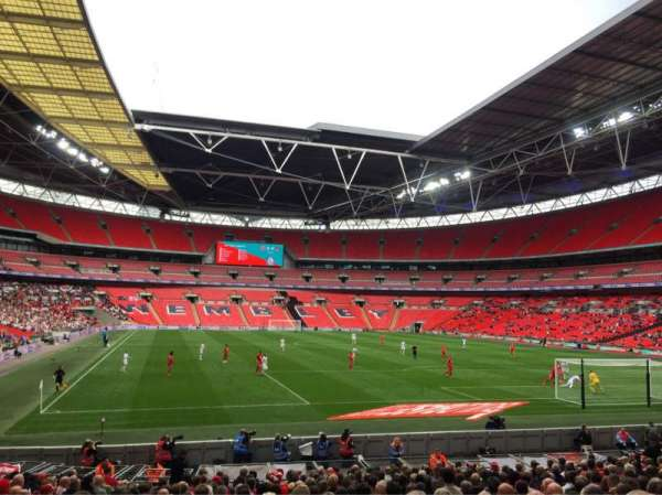 Wembley Stadium, section: 136, rangée: 21, siège: 63