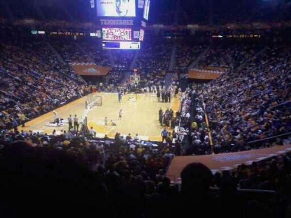 Thompson-Boling Arena, section: 311a