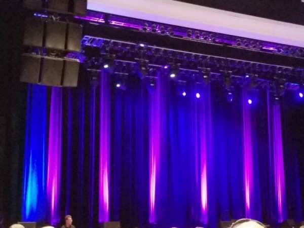 Borgata Event Center, section: 100, rangée: 16, siège: 14