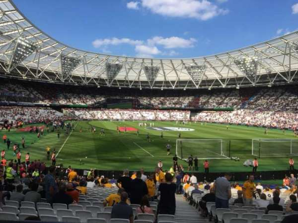 London Stadium, section: Away Disabled Section