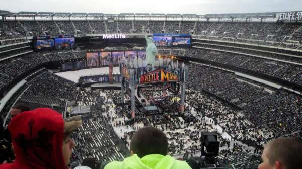 MetLife Stadium, section: 329, rangée: 19, siège: 5