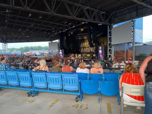 Hollywood Casino Amphitheatre (Maryland Heights), section: Upper Right, rangée: AA, siège: 28