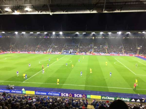 King Power Stadium, section: J3, rangée: HH, siège: 266