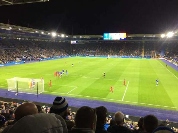 King Power Stadium, section: SK1, rangée: Z, siège: 180