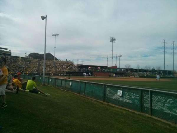 Packard Stadium, section: lawn