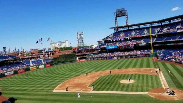 Citizens Bank Park, section: 227, rangée: 4, siège: 1