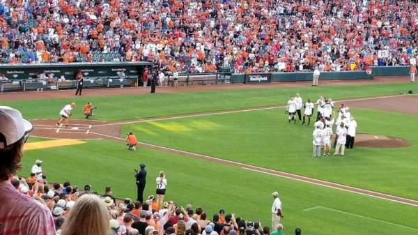 Oriole Park at Camden Yards, section: 15, rangée: 6, siège: 23