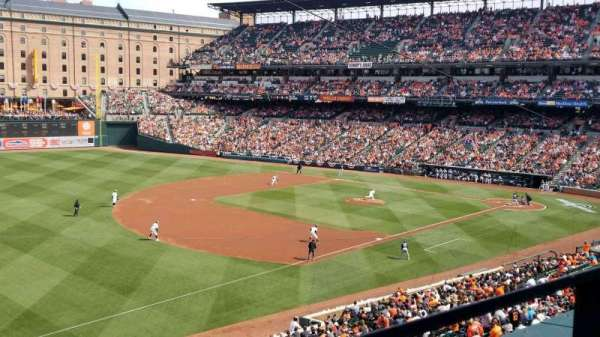 Oriole Park at Camden Yards, section: 260, rangée: 1, siège: 2