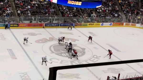 Giant Center, section: 218, rangée: 2, siège: 2