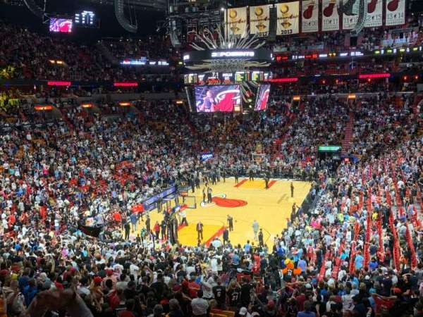 American Airlines Arena, section: 123, rangée: 35, siège: 22