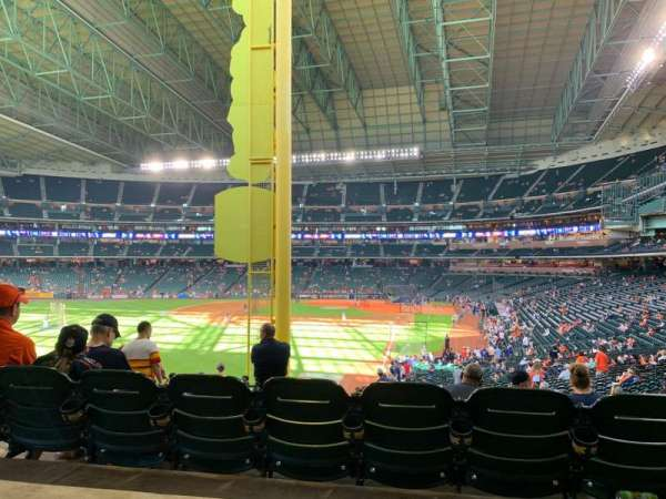 Minute Maid Park, section: 104, rangée: SRO, siège: SRP