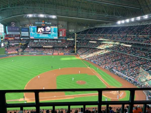 Minute Maid Park, section: 413, rangée: 1, siège: 11