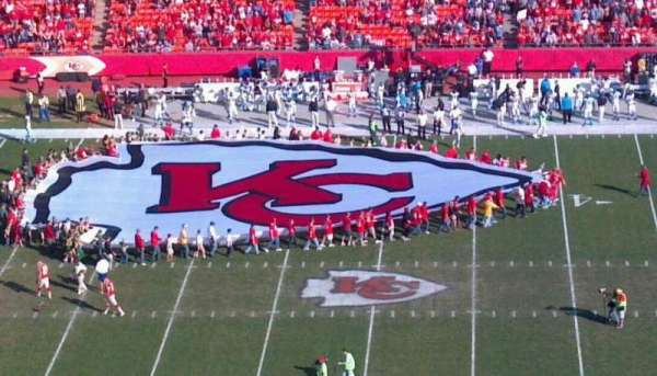 Arrowhead Stadium, section: 324