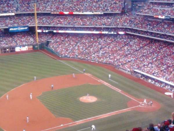 Citizens Bank Park, section: 429, rangée: 11