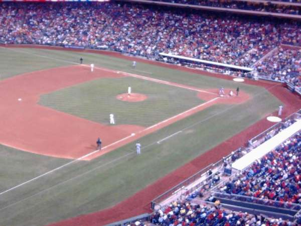 Citizens Bank Park, section: 431, rangée: 1