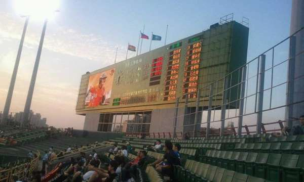 Taichung Intercontinental Baseball Stadium, section: outfield