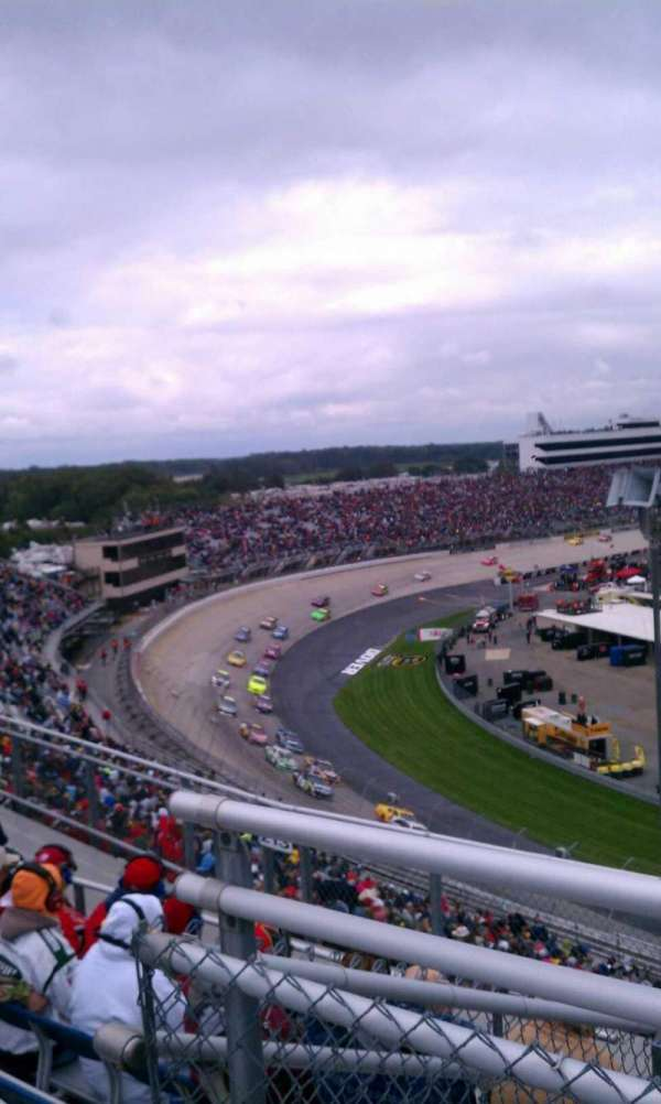 Dover International Speedway, section: 212, rangée: 37, siège: 21