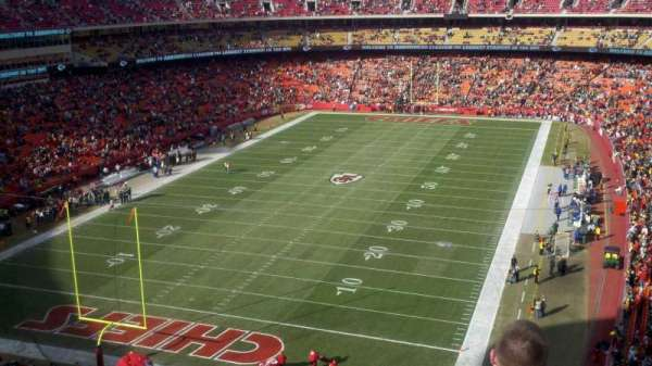 Arrowhead Stadium, section: 310, rangée: 11, siège: 18
