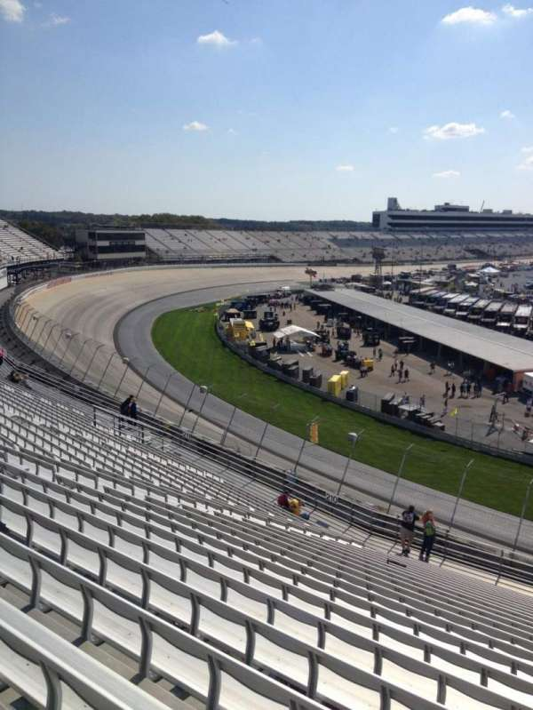 Dover International Speedway, section: 209, rangée: 23, siège: 4